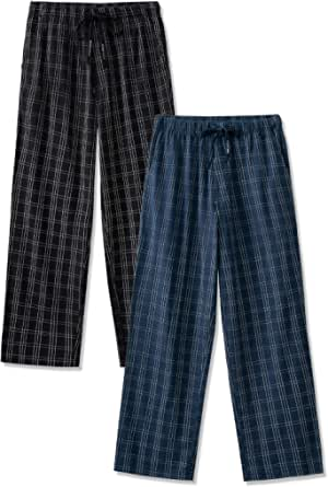 DAVID ARCHY Men's Pyjamas Lounge Pants Men's Loungewear, Breathable and Comfortable Loungewear Bottoms