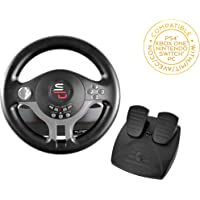 Superdrive - Racing Steering Wheel Driving Wheel SV200 with pedals and shift paddles for Nintendo Switch - PS4 - Xbox…