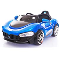 Toy House Sports Rechargeable Battery Painted Ride-on Car, Blue