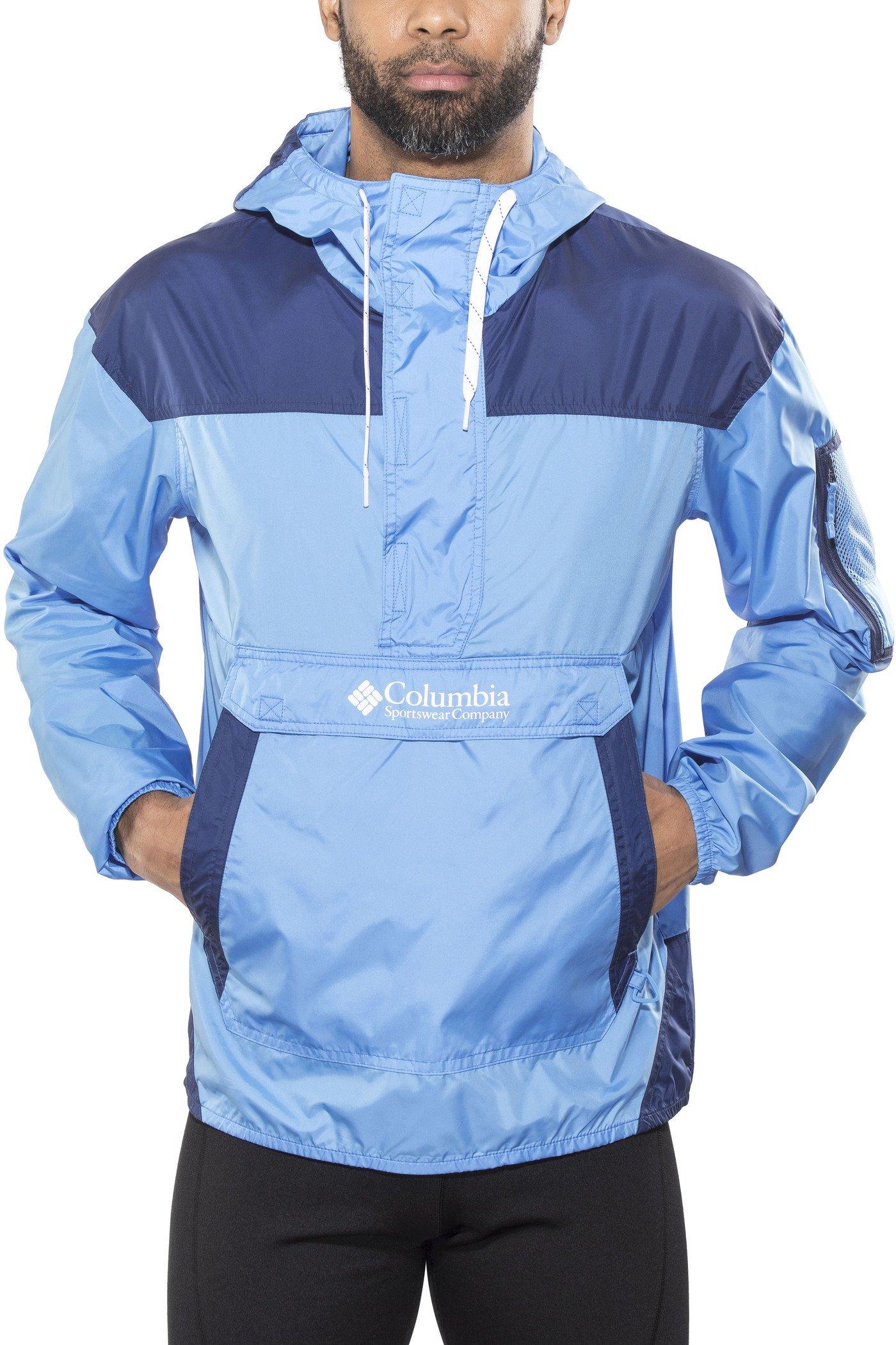 Columbia Challenger Cortavientos Impermeable, Aislamiento térmico sintético Hi-Loft, Hombre
