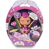 The Bellies - Punky-Pink! Bellie rockero,le encanta la música. Muñeca interactivo para niñas y niños a partir de 3 años(Famos