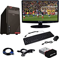 RollTop Assembled Desktop Computer Intel Core 2 Duo 2.9 GHZ Processor with Windows 7 Installed (Trial Version)(Intex)