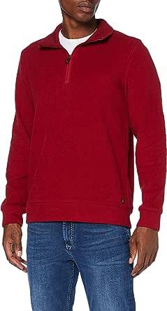 Pierre Cardin Men's Sweat-Shirt Brushed Rib Sweatshirt