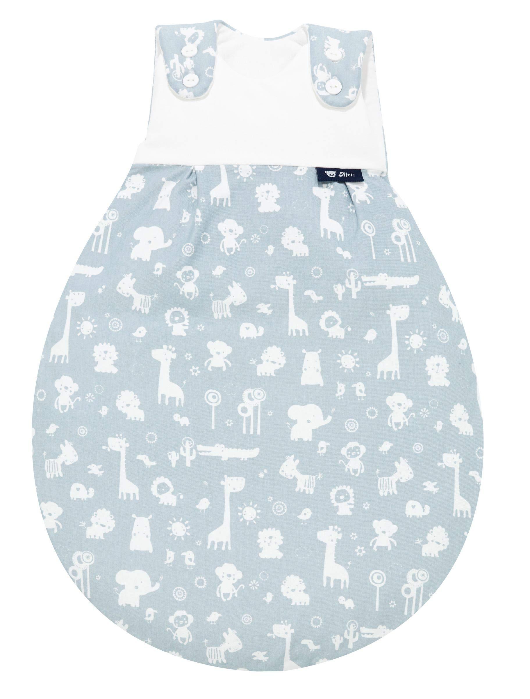 Alvi Baby Mäxchen Außensack Babyschlafsack Schlafsack ohne Ärmel Exclusiv