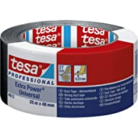 Tesa 56388-00001-07 extra Power Universal Ruban adhésif Noir - 25m x 50mm