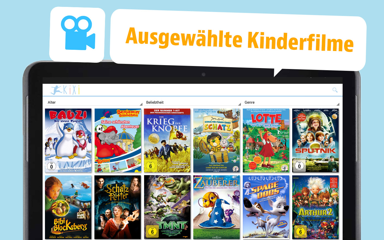 Mediathek Kinderfilme