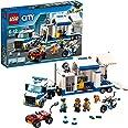LEGO 60139 City LePostedeCommandementMobile de Police, Jouet de Camion et Moto, Jouets de Police pour Enfants
