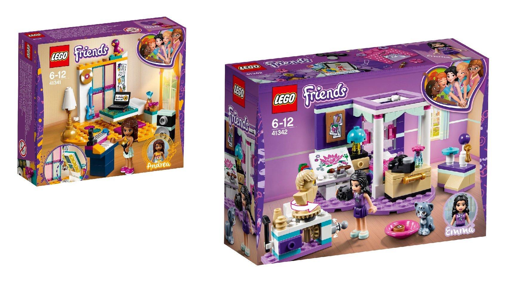 Steinchenwelt Lego Friends 2er Set 41341 Andreas Zimmer 41342