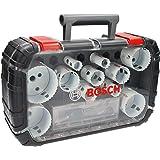 Bosch Professional 14 st. hålsåg Progressor for Wood & Metal Universal Set (Tillbehör borr)