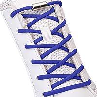 SULPO Elastische Schnürsenkel ohne Binden - Elastisch, mit Metall-Verschluss