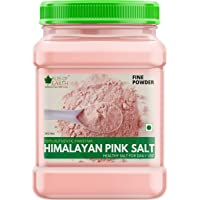 Bliss of Earth 1KG Fine Powder Pakistani Himalayan Pink Salt Non Iodised for Weight Loss & Healthy Cooking, Natural…