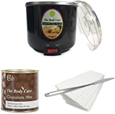 BodyCare Official Waxing Kit With Chocolate Hot Wax