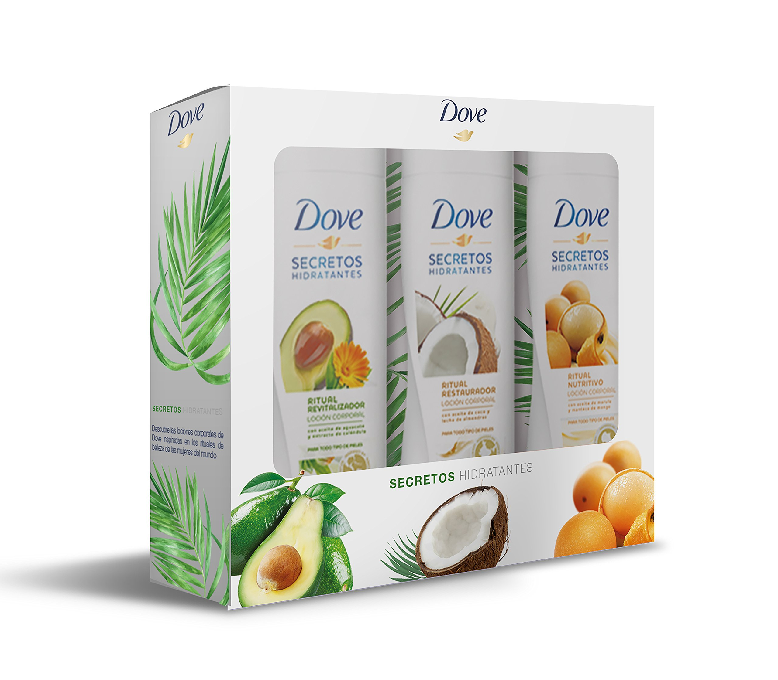Dove Pack Trío Body – 750 ml