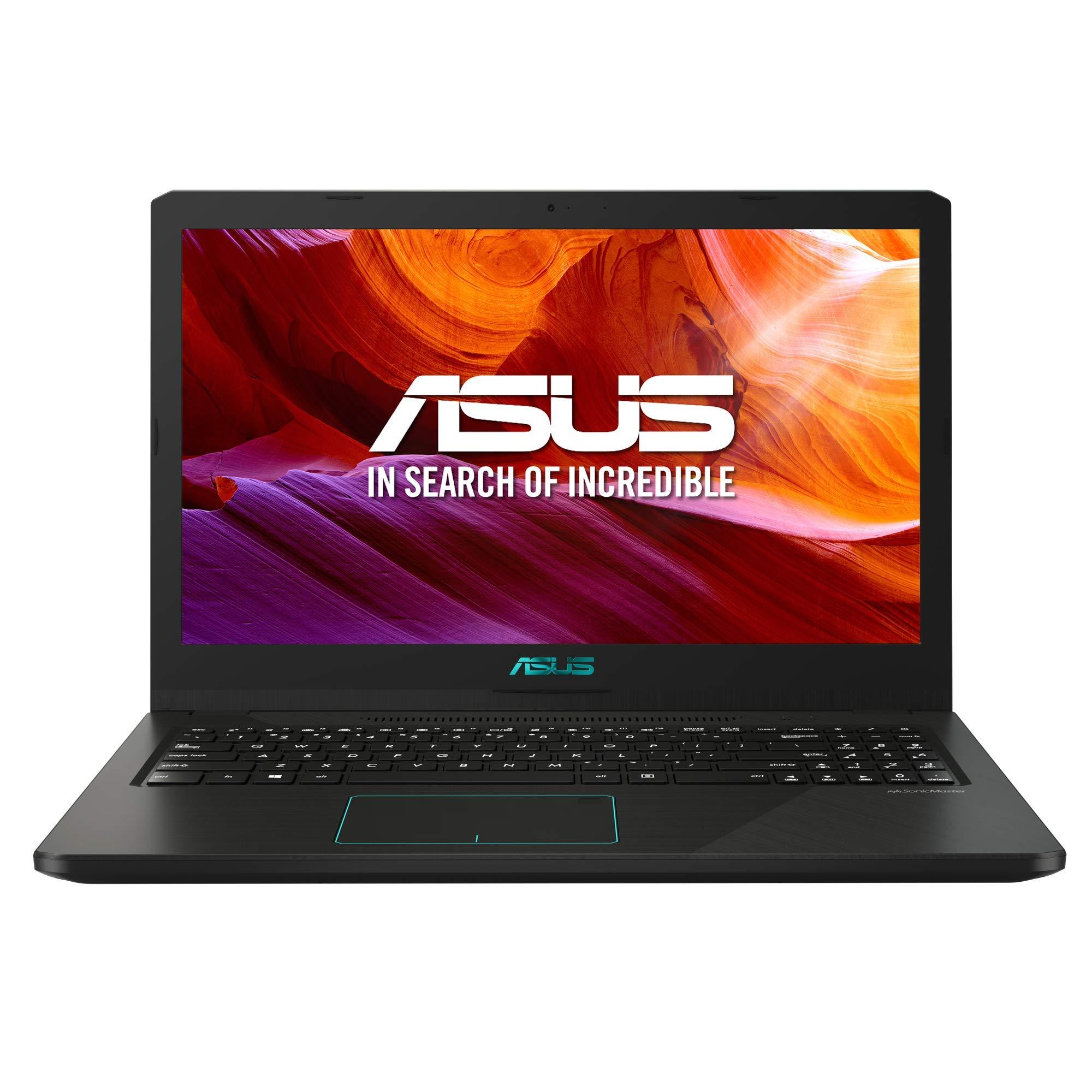 ASUS R570ZD-DM107 – Ordenador Portátil de 15.6″ Full HD (AMD Ryzen 5, 8GB RAM, 1 TB HDD, Nvidia GeForce GTX 1050 de 4 GB, Endless OS (Inglés)) Negro – Teclado QWERTY Español