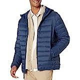 Amazon Essentials Lightweight Water-Resistant Packable Hooded Puffer Jacket Coat