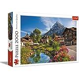 Trefl - 27089 - Puzzle - Les Alpes en Été - 2000 Pièces