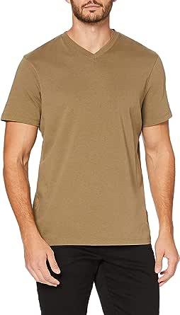 MERAKI Men's V-Neck T-Shirt, Organic Cotton