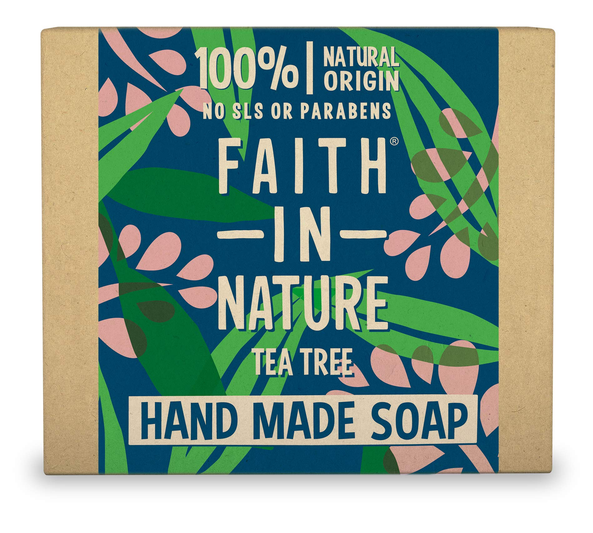 Faith in Nature, Organic Tea Tree Soap, 100g