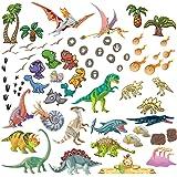 DECOWALL DS-8034G Brillan en la oscuridad Dinosaurio en Acuarela Vinilo Pegatinas Decorativas Adhesiva Pared Dormitorio Sal/ón Guarder/ía Habitaci/ón Infantiles Ni/ños Beb/és Peque/ña English Ver.