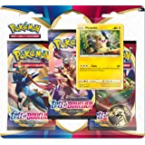 Pokémon Epée et Bouclier-Série 1 (EB01) : Pack 3 boosters, 3PACK01EB01