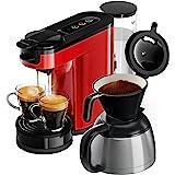 Philips Senseo Switch Pad- en filterkoffiemachine - 7 Koppen koffie - Waterreservoir 1 liter - Intensiteitselectie - Filter k