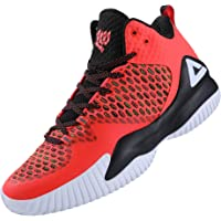 PEAK High Top Mens Basketball Shoes Lou Williams Streetball Master Breathable Non Slip Outdoor Sneakers Cushioning…