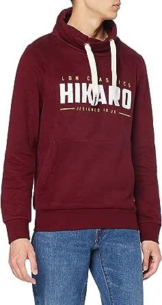Amazon-Marke: Hikaro Herren Sweatshirt mit hohem Kragen