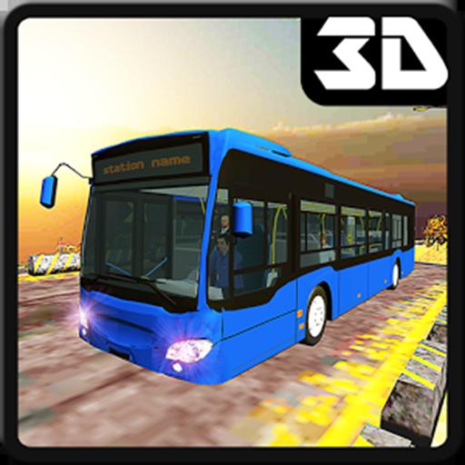 OffRoad Hügelklettern Megabus Simulator 2017 3D (Tour-bus Zu)