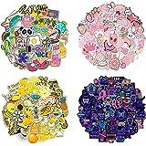 QIMMU 200 stuks graffiti-stickers, grote stickers, schattige stickers, decoratieve stickers voor waterflessen, skateboards, b