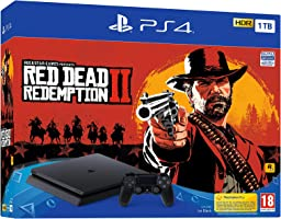 Sony PlayStation 4 1 TB Oyun Konsolu ve Red Dead Redemption 2
