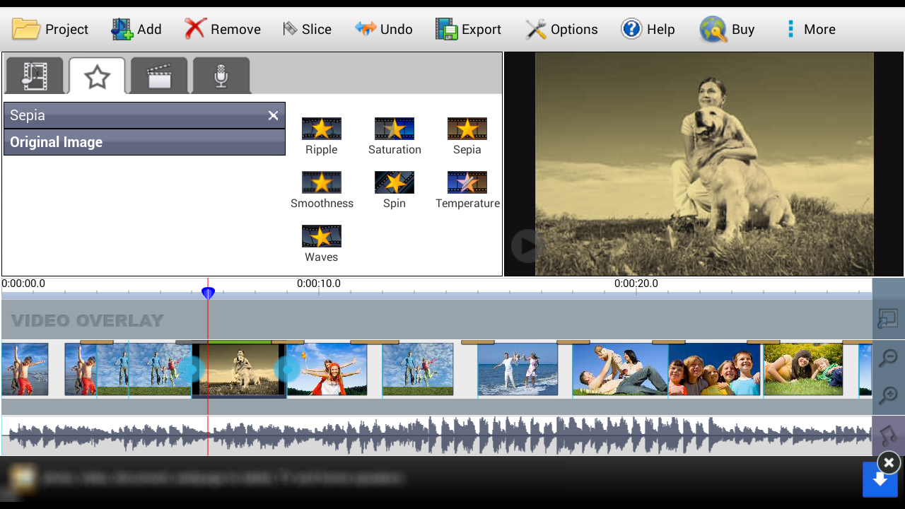 VideoPad Video Editor Free: Amazon.co.uk: Appstore for Android