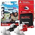 Zatyczki do Uszu Alpine MotoSafe Pro - Zapobiegają Uszkodzeniom Słuchu Podczas Jazdy na Motocyklu - Ruch Uliczny Jest Nadal S
