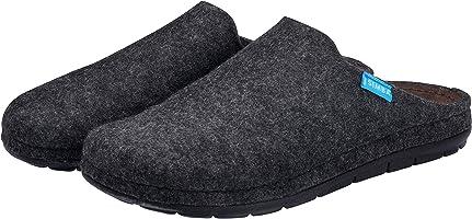 Simba Akupressur-Hausschuhe aus echter Wolle für Herren | Höchster Komfort | Reflexzonen