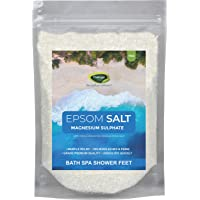 Thanjai Natural 1Kg Epsom Salt (1st Quality Magnesium Sulphate) - Muscle Relief, Relieves Aches & Pain | Bath and Feet…