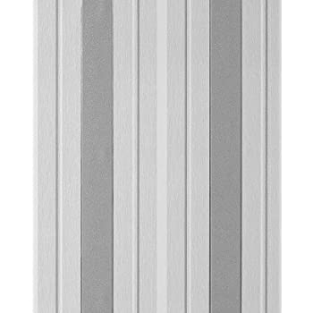 Streifen Tapete EDEM 069-26 Designer Vinyl Tapete Struktur Grau ...