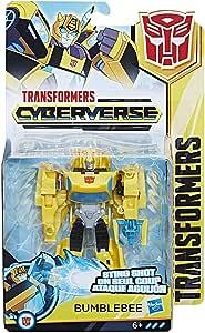 Hasbro Transformers E1900ES0 - Cyberverse Action Attackers Warrior Figur Bumblebee Roboter-Actionfigur