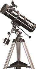 Skywatcher Explorer-130P Newton Teleskop (130mm (5,1 Zoll), f/650) mit parabolischem Spiegel silber