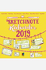 Dein Sketchnote Kalender 2019 (Wandkalender) (mitp Kreativ) Kalender