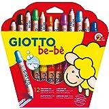 Giotto Be-Bè Súper Lápices Est.12 Uds + Sacapuntas