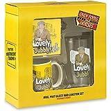 Only Fools and Horses GIFT SET Mug Beer Glass Coaster Presentation Box GIFT IDEA