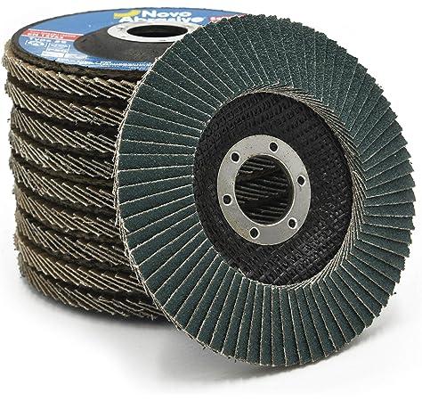 Garryson Diy Zirconium Flap Disc 100 X 16mm 80grit Fine