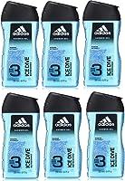 adidas Ice Dive Duschgel - mit 3-in-1 Formulierung für Gesicht, Körper und Haar & ein langanhaltendes Frischegefühl -...