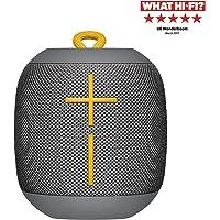 Ultimates Ears Wonderboom enceinte portable Bluetooth, Son étonnamment puissant, Etanche, Connectez deux enceintes pour un son plus puissant, Batterie 10h - Grise