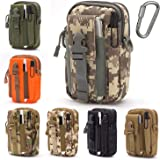Lightbare Tactical Molle Pouch Multipurpose EDC Waist Bag Pack, Outdoor Men Compact Gadget Utility Belt with Cell Phone Holst