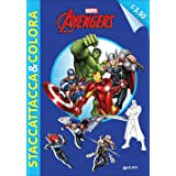 Avengers. Staccattacca e colora. Ediz. illustrata