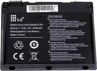 4d Laptop Battery for Uniwill U40-3S4400-G1B1 U40-3S4400-G1L3 U40-3S4400-M1H1 5