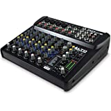 Alto Professional ZMX122FX – Table de Mixage Compacte 8 Voies avec Effets Intégrés, 4 Entrées XLR pour Microphone et 2 Sortie