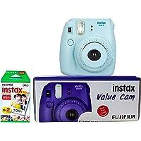 Fuji Mini 8 Value Cam with 20 Films Shot (Blue)