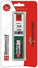Simmtronics 2 Gb Dddr-2 800 Mhz Pc 6400 For Desktop