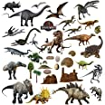 Dinosaures Autocollants Stickers muraux Enfant Chambre Vinyle Multicolore Pépinière